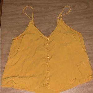 Loose yellow blouse!
